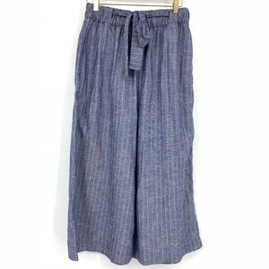 Pull & Bear Wide Leg Paperbag Tie Waist Pants
